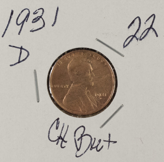 1931 D - LINCOLN CENT - BU