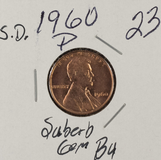 1960 P - SMALL DATE LINCOLN CENT - SUBERB GEM BU