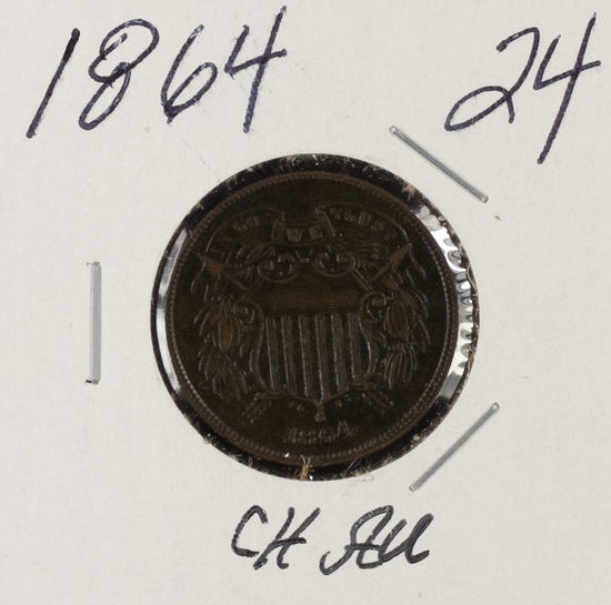 1864 - TWO CENT PIECE - CH AU
