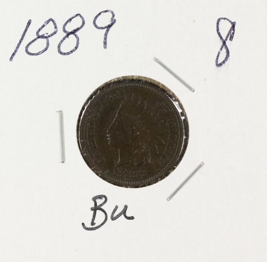1889 - INDIAN HEAD CENT - BR UNC