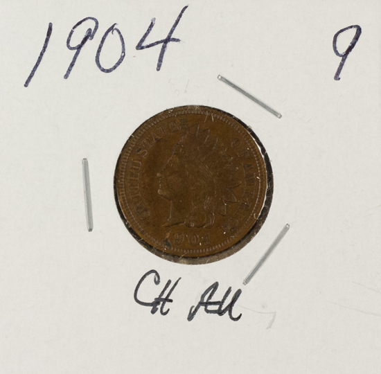 1904 - INDIAN HEAD CENT -RD/BN UNC
