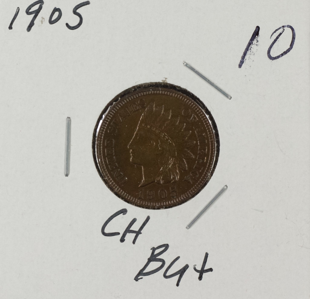 1905 - INDIAN HEAD CENT - UNC