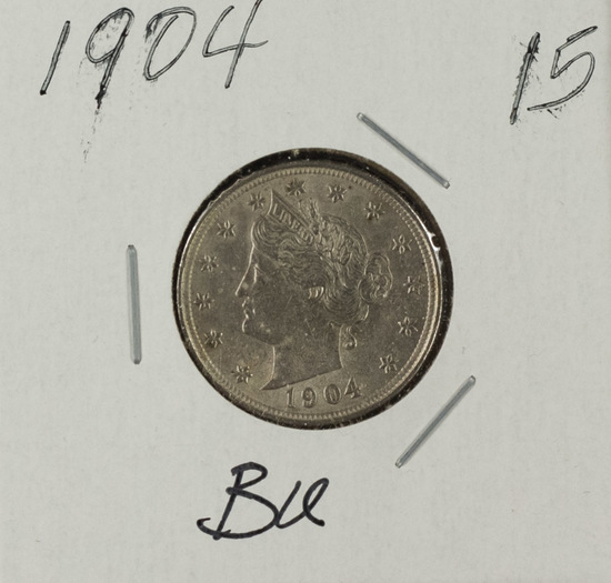 "1904 - Liberty Head ""V"" Nickel - BU"