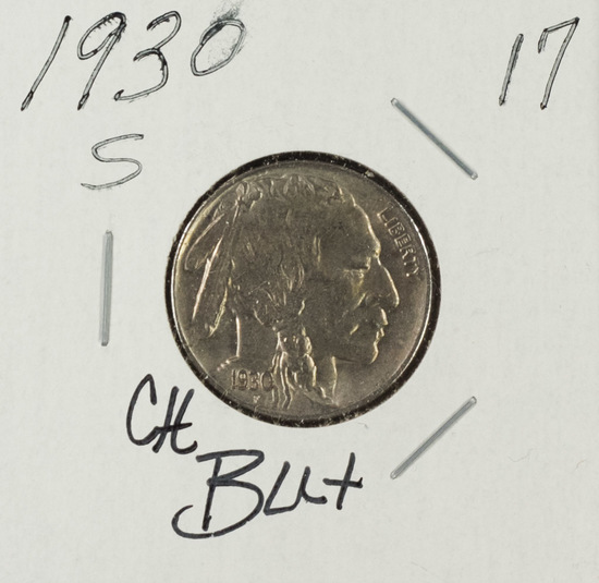 1930 S - Buffalo Nickel - BU