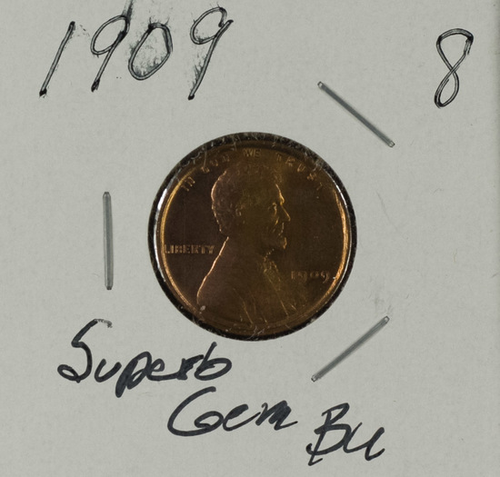 1909 - Lincoln Cent - Gem BU