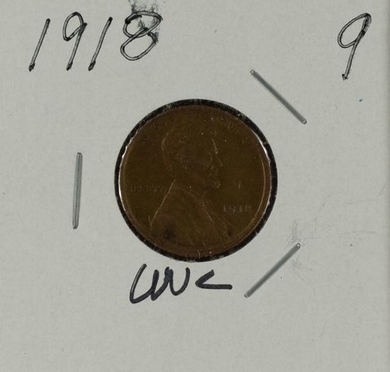1918 - Lincoln Cent - UNC