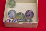7 Medium Swirl Marbles