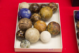 14 Stone Marbles, Assorted Sizes