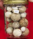 Extra Small Jar Stone Marbles