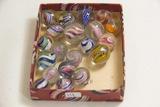 Box of 20 Swirl Marbles
