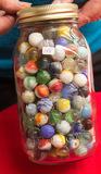 Large Jar Marbles