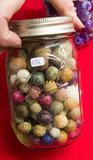 Small Jar Stone Marbles