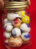 Small Jar Marbles