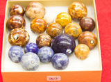 22 Small Stone Marbles