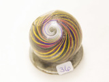 Swirl 1 1/2' Marble, Chipped
