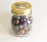 Extra Small Jar of Stone Marbles