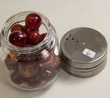Extra Small Jar of Agate Marbles