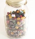 Medium Jar of Stone Marbles
