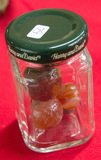 Extra Small Jar 7 Agate Marbles