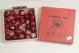 Box of 25 Akro Agates in Original Box