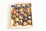 Box of 20 Coreless Swirl Marbles