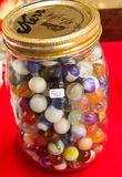 Large Jar of Marbles