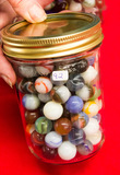 Small Jar of Marbles