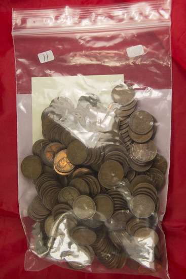 """255  -Wheat Ear Lincoln Cents  mostly 1930""""s"""