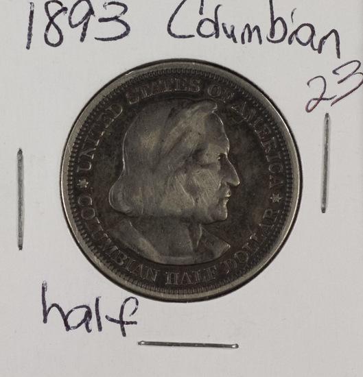 Lot of 3 - 1893 Comm. Half Dollar - VF