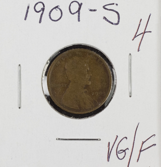 1909 S - Lincoln Cent - VG/F