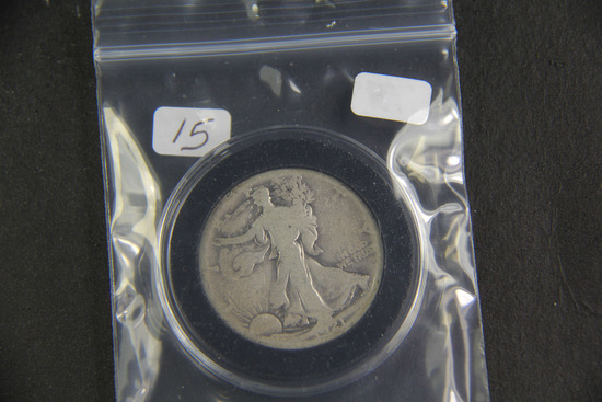 1921 S - Liberty Walking Half Dollar - G