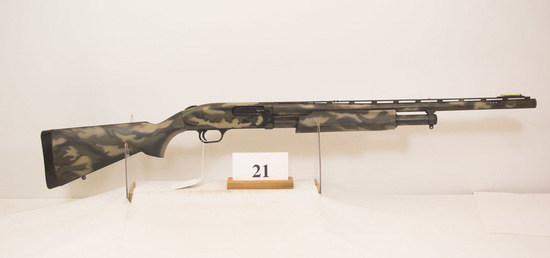 Mossberg, Model 500A, Pump Shotgun, 12 ga,