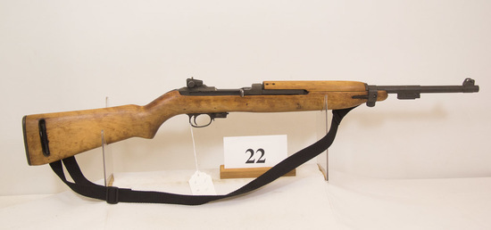 Indland, Model M1 Carbine, Semi  Auto Rifle,