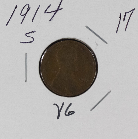 1914 S - LINCOLN CENT - VG