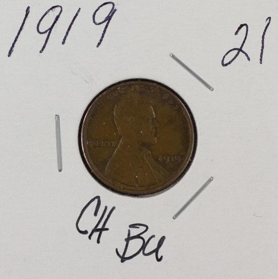 1919 - LINCOLN CENT - UNC
