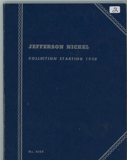 COMPLETE JEFFERSON NICKEL SET 1938 - 1959