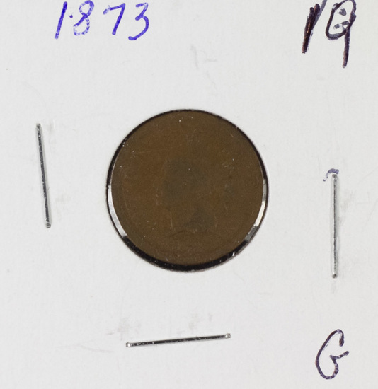 1873 INDIAN HEAD CENT - G