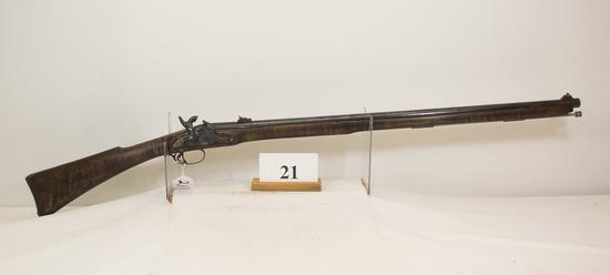 J. P. Murray, Percussion Rifle, 58 cal, Antonio
