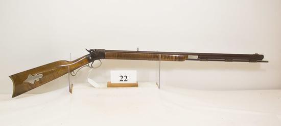 Jim Phillips, Custom Rifle, Black Powder, 50 cal,