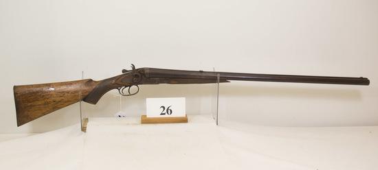 T. Barker, Double Hammer, Shotgun, 12 ga,