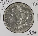 1892-S MORGAN DOLLAR - AU