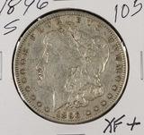 1896-S MORGAN DOLLAR - XF
