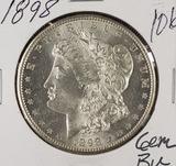 1898 - MORGAN DOLLAR - GEM BU