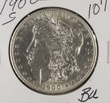 1900-S MORGAN DOLLAR - BU
