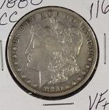 1880 CC - MORGAN DOLLAR - VF+
