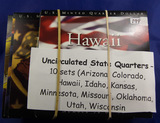 10 SETS P&D STATE QUARTERS - ARIZONA, COLORADO, HAWAII, IDAHO, KANSAS, MINNISOTA,UTAH
