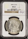 1883 - CCNGC MS62 - MORGAN DOLLAR