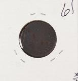 1723 - COLONIAL - WOOD - HIBERNIA - FARTHING - F