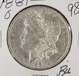 1881-O MORGAN DOLLAR - BU