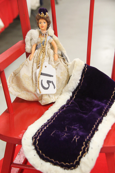"8"" Peggy Nesbit Queen Elizabeth Coronation Doll"